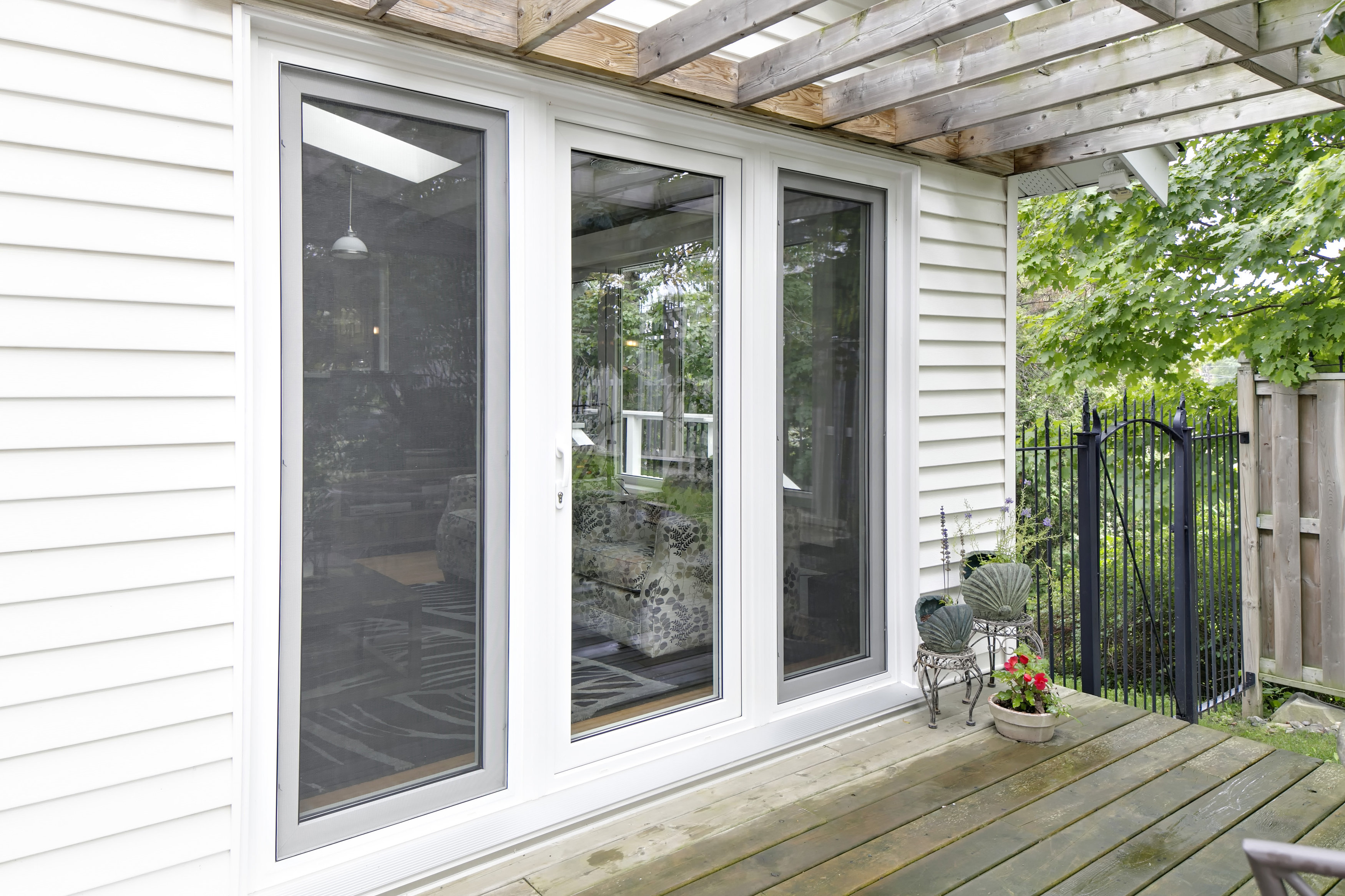 Patio maritime door window for Outside door with window that opens