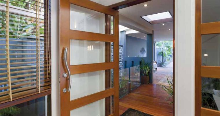 Functional and beautiful impact with interior doors by Lemieux