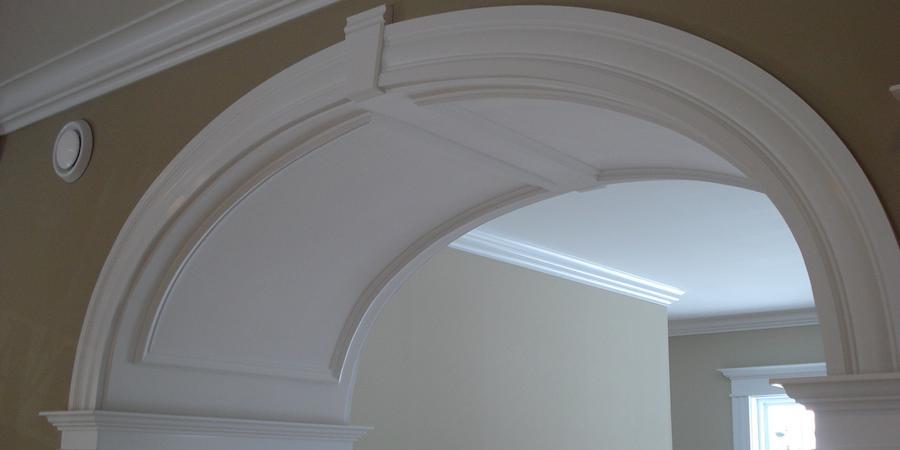 Interior Arches Mouldings : Interior decorative moldings maritime door window