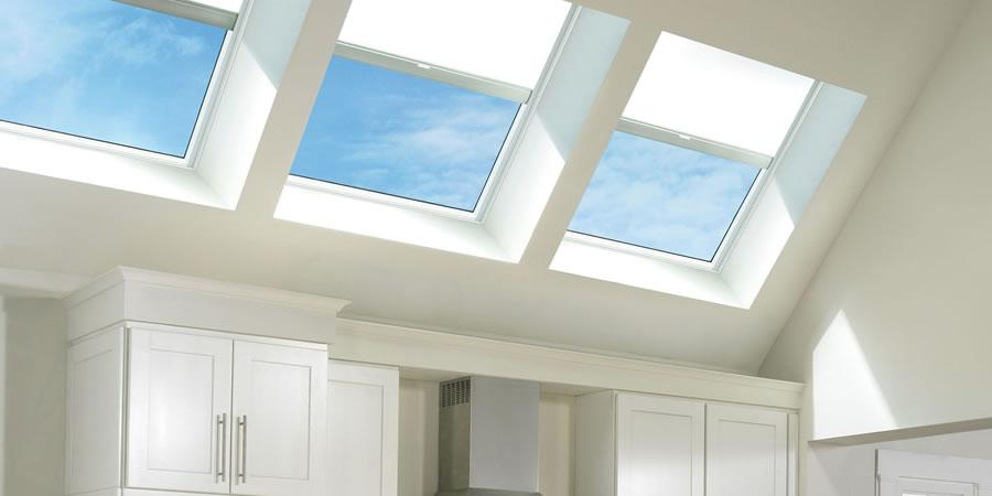 , Roof windows, skylights & sun tunnels