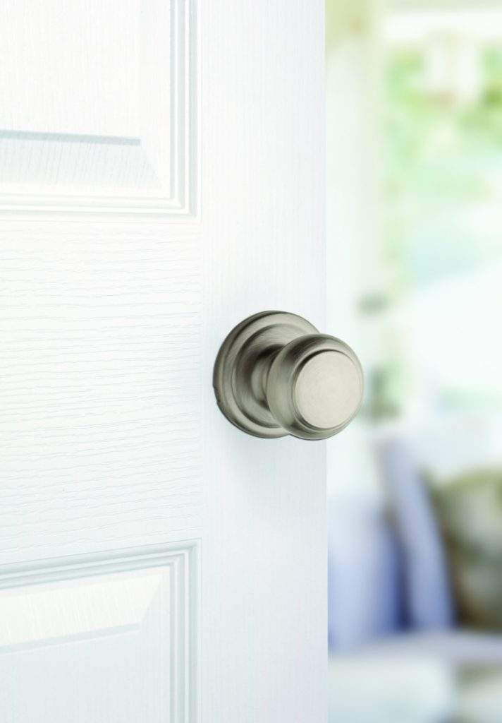 troy passage knob in satin nickel lifestyle